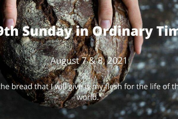 Parish News – August 8, 2021